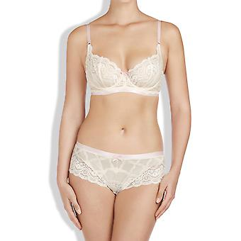 Heidi Klum Intimates Women's Cream Briefs With Lace