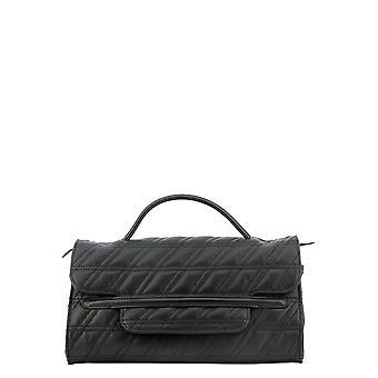 Zanellato 6661zz02 Dames's Zwart Lederen Handtas