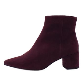 Högl 8-10 4912 Publicity Stylish Ankle Boots In Vino Suede