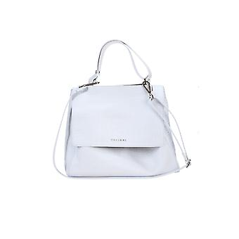 Orciani Bt2006kindubwht Women's White Leather Handbag