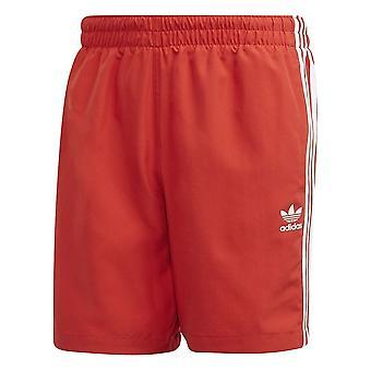 Adidas 3 Stripes Plávať šortky FM9876 voda po celý rok muži nohavice