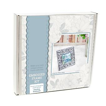 Embossed Metal Picture Frame Craft Kit - Boxed Gift