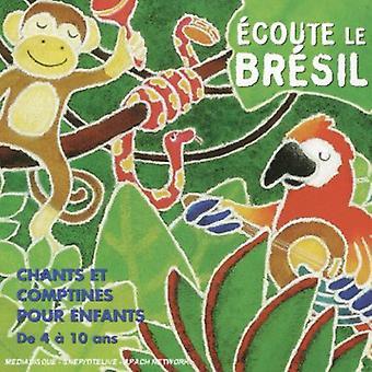 Teca Calazans - Ecoute Le Brasil-Brazilian Songs for Children [CD] USA import