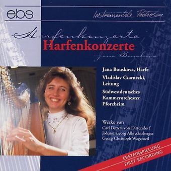 Bouskova,Jana / SW Germ Cham Orch, Czarnecki - Harp Cti: Dittersdorf Albrechtsberger Et Al [CD] USA import