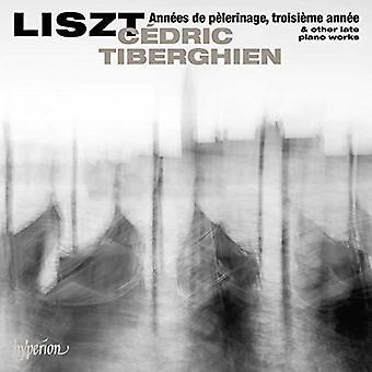 Liszt: Annees De Pelerinage Troisiem Annee [CD] USA import