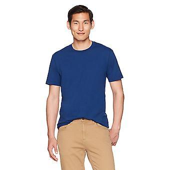 "Goodthreads Men's ""The Perfect Crewneck T-Shirt"" Short-Sleeve Cotton, Royal B..."