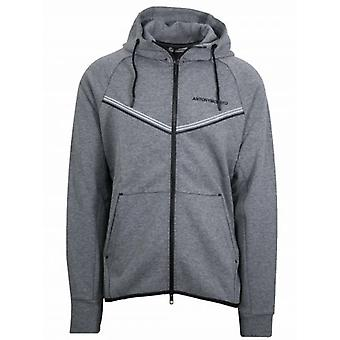 Antony Morato Grey Hooded Sweatshirt