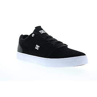 DC Hyde  Mens Black Suede Lace Up Skate Sneakers Shoes