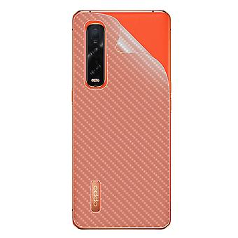 Oppo Trouver X2 Pro Pro Face Latex Carbon Effect iMak clair