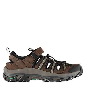 Karrimor Mens K2 Lederen Sandals Touch Sluiting Gedempte Inlegzolen Schoenen