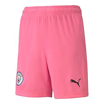 2020-2021 Man City Away Goalkeeper Shorts (Różowy) - Dzieci