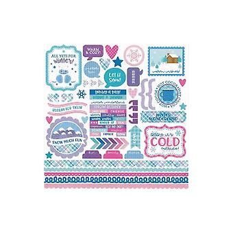 Doodlebug Design Winter Wonderland This & That Stickers