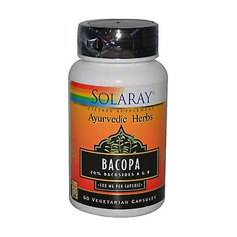 Bacopa 60 vegetable capsules of 100mg