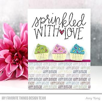 My Favorite Things Sprinkled with Love Clear Stamps