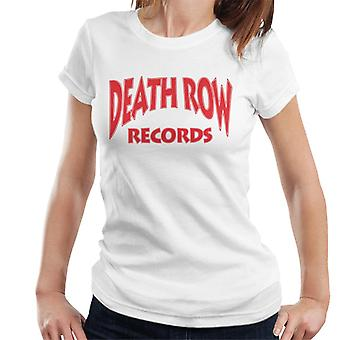 Death Row Records Logo rood dames T-Shirt