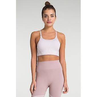 Jerf Womens Surrey Pink Sem Costura Sutiã Esportivo