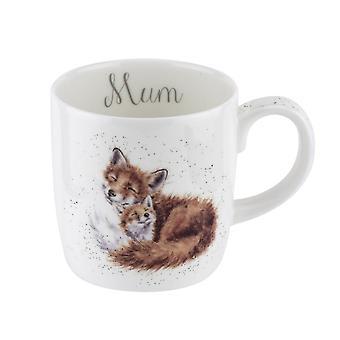 Wrendale Mum Foxes Large Mug