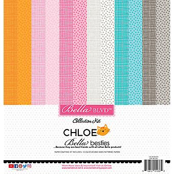 Bella BLVD Chloe Bella Besties 12x12 Inch Paper Pack