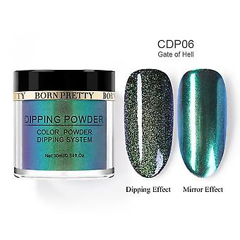 Glitter Dipping Nail Powder, Nail Art Gradient French, Dip Nail Power Without