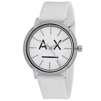 120, Armani Exchange Mujeres 's AX5557 Reloj Blanco de Cuarzo
