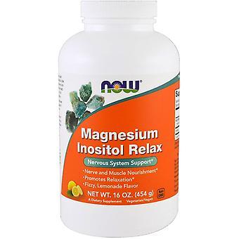 Now Foods, Magnesium Inositol Relax, Lemonade, 16 oz (454 g)