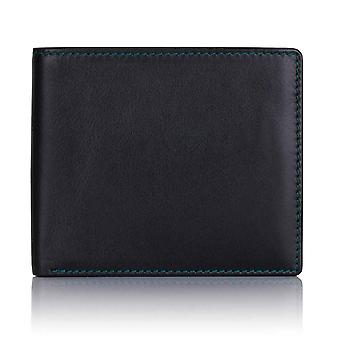 Green Label Luxury Black Leather Billfold