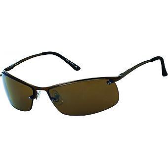 Sunglasses Men's Oval Men's Brown/Brown (20-234)