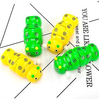 Trolly Bahar Clockwork Caterpillar Mini Çekme Oyuncak - Küçük Hayvan Tarama Oyuncak