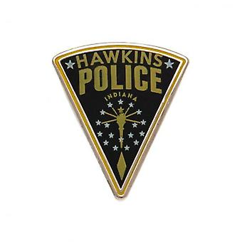 Stranger Things Badge Hawkins Police