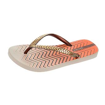 Ipanema Trends VII Womens Flip Tongs / sandales - Beige Bronze