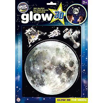 The Original Glowstars Glow 3D The Moon