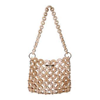 Cult Gaia 22013acbts Women's Beige Acrylic Shoulder Bag