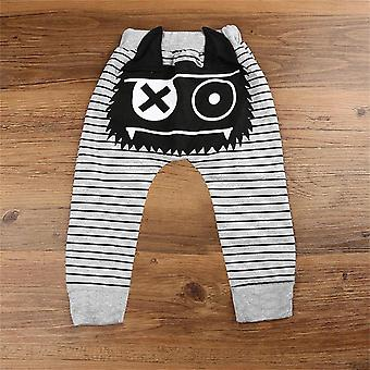 Monster Baby Clothes, Brand Stripe Bottoms Harem Pants