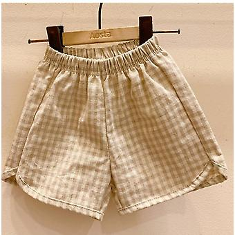 Children's Cotton Shorts And Hat ,summer -boys' And Girls' Loose And Breathable