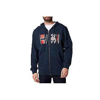 ヘリーハンセン1877フルジップパーカー53226598ユニバーサルオールイヤー男性スウェットシャツ