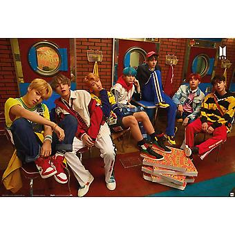 BTS Pizza Poster