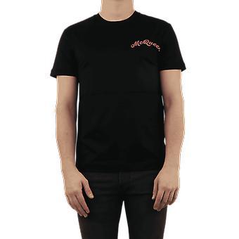 אלכסנדר מקווין המכללה לוגו מקווין שחור 599574QOX011000 למעלה