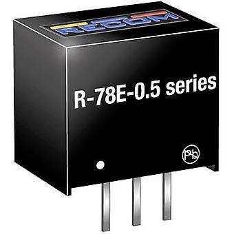 RECOM R-78E12-0.5 DC/DC muunnin (tulostus) 12 500 mA Nro. ulostulot: 1 x
