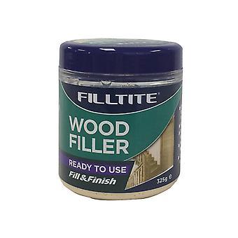 Tembe DIY Ready Mixed Wood Filler Natural 325g FI8304