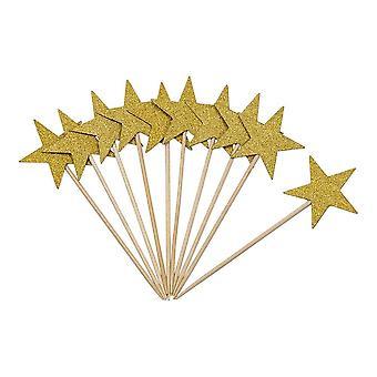 Hammastikku Star Gold 10-pakkaus