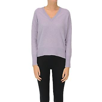 360 Cashmere Ezgl150001 Women's Lilac Cashmere Sweater