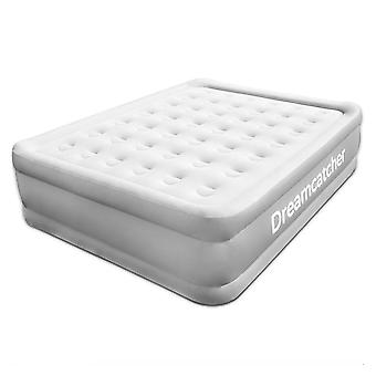 Dreamcatcher Inflatable Mattress King Size Blow up Air Bed with Built in Pump