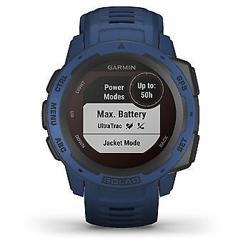 Garmin 010-02293-01 Instinct Solar Gps Vuorovesi Sininen Silikoni Bluetooth Watch