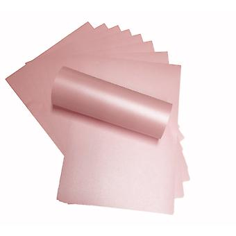 A4 Papier Pearlescent Petals Rose 120gsm