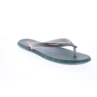 Rider R1 Energym  Mens Gray Synthetic Flip-Flops Sandals Shoes