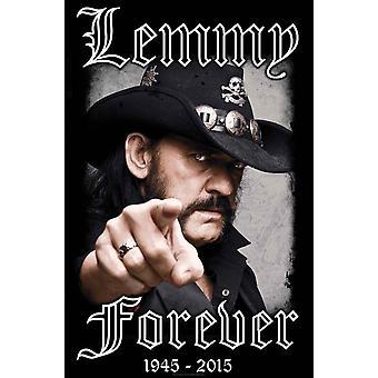 Motorhead Poster Lemmy Forever new Official Textile 70cm x 106cm