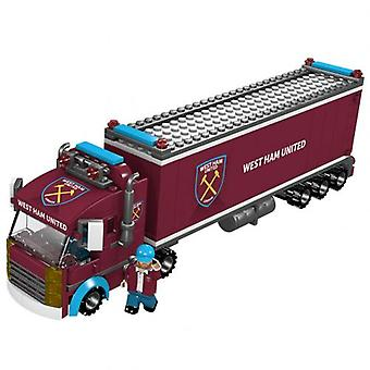 West Ham United Brick Fan Truck