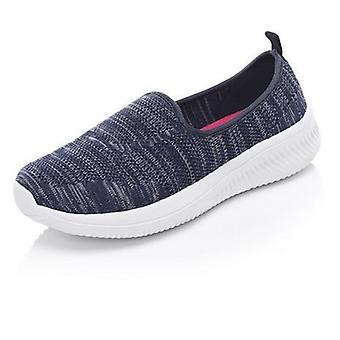 Women's Summer Flat Bottom Breathable Walking Shoes Casual