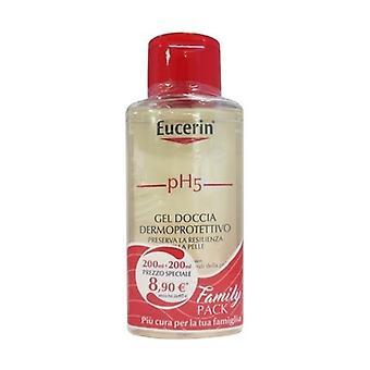 Bipacco pH5 Sensitive Skin Shower Gel 2 units of 200ml