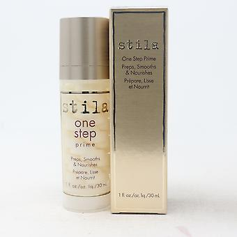 Stila One Step Prime Preps, Smooths & Nourishes  1.0oz/30ml New With Box